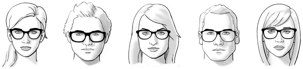 adelaide-optometrist-face-shape-guide