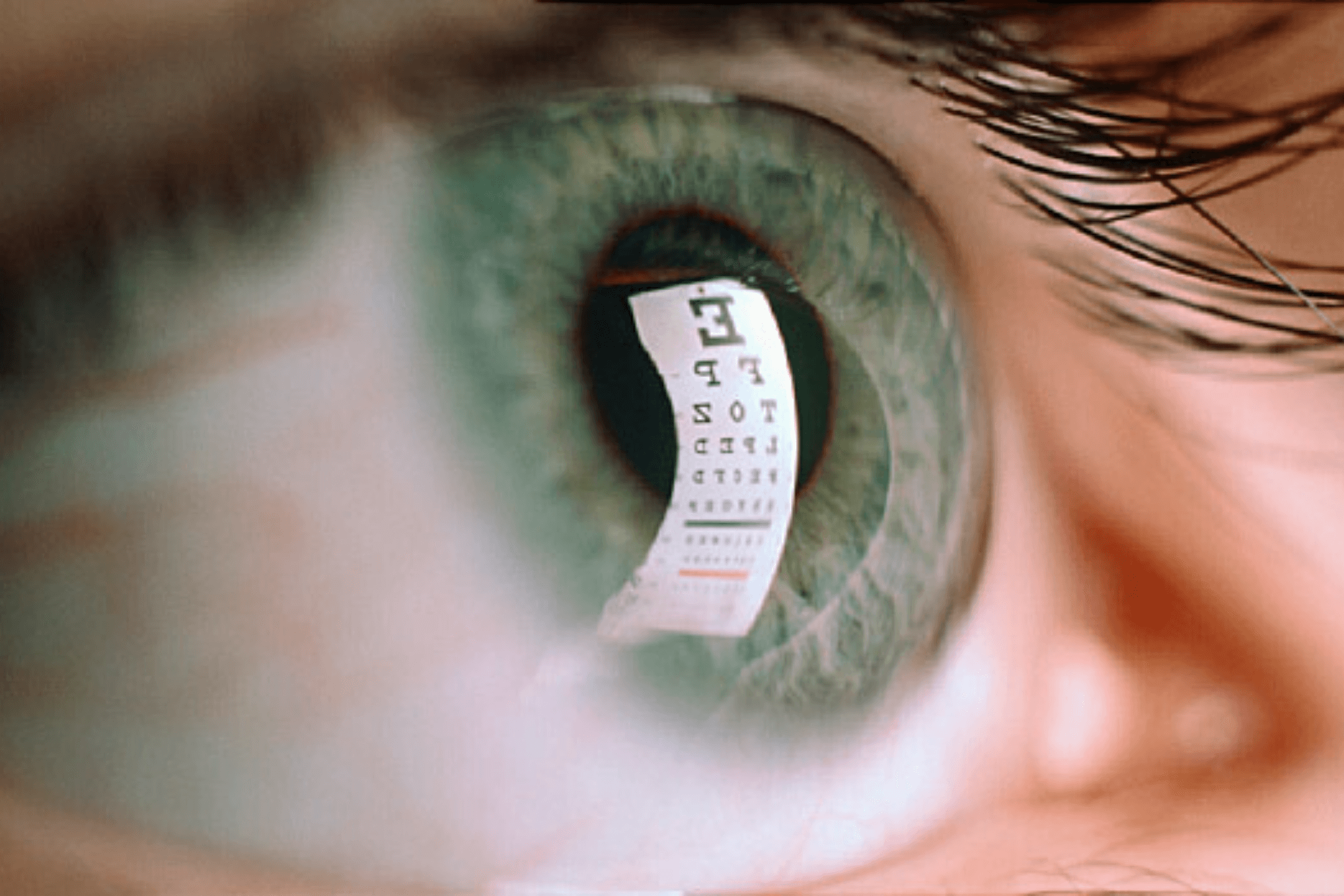eye reading chart