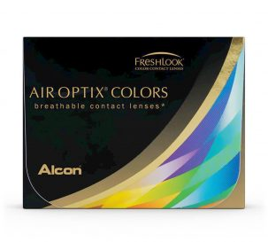 Air Optix Hazel, Blue, Green, Purple, Grey, Brown, Honey