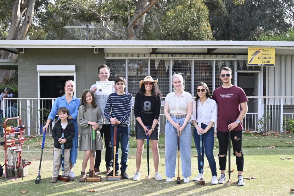 ACO and friends at the Croquet Club